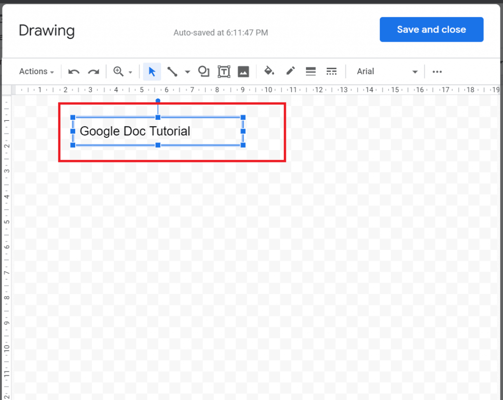google docs make text vertical