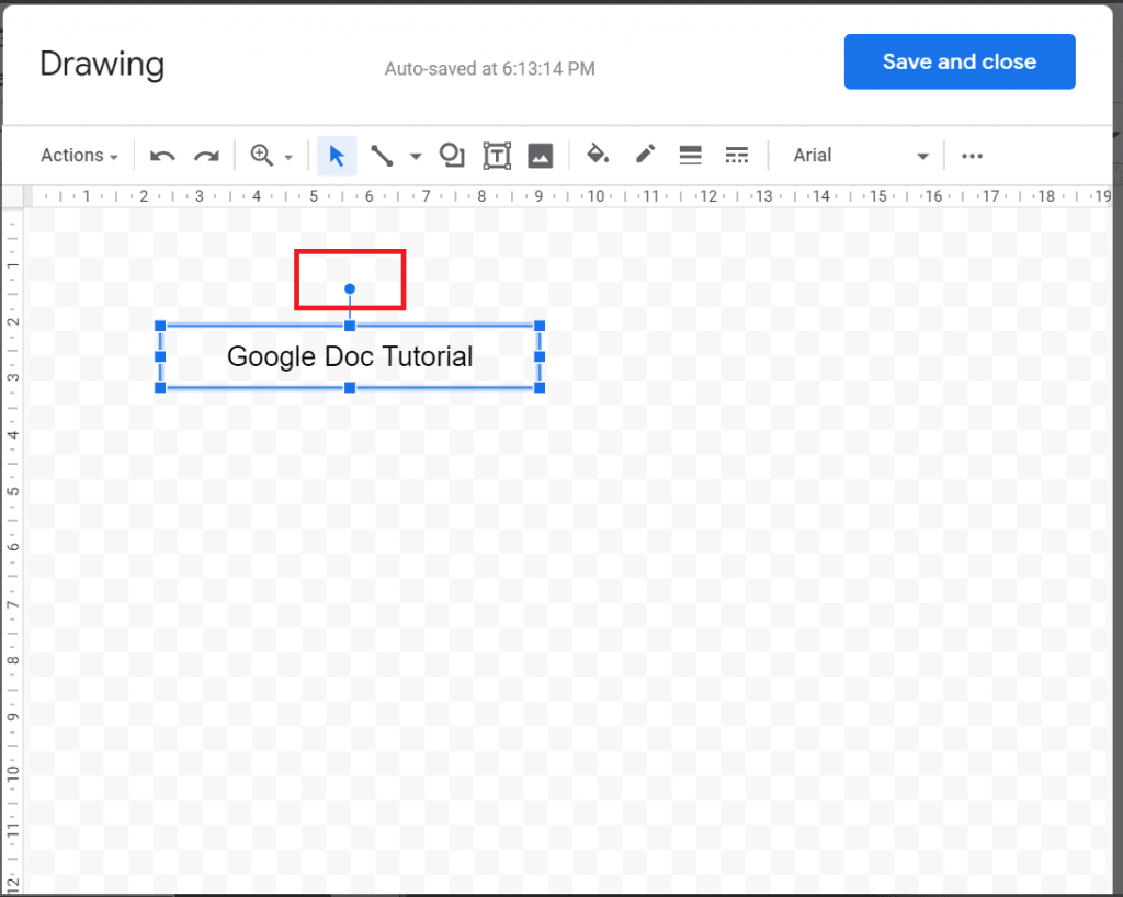 google docs sideways text