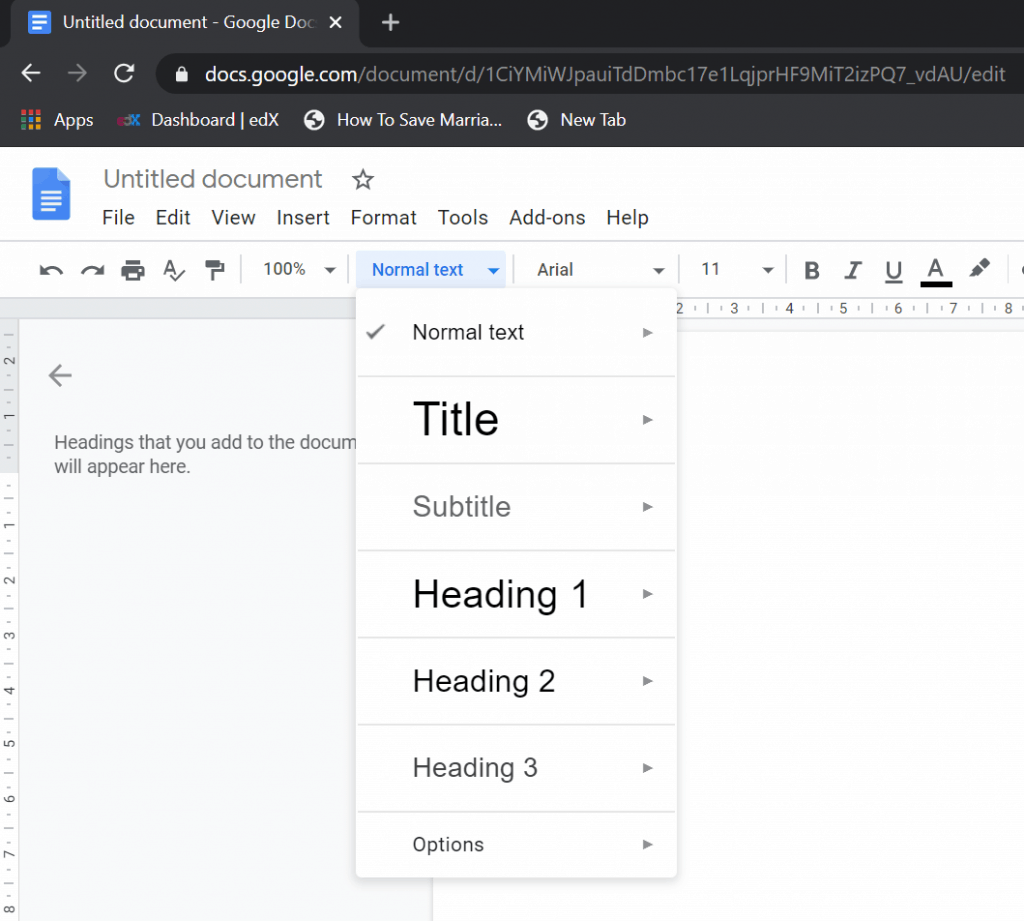 google docs or microsoft word