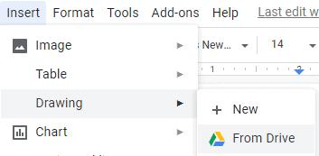 Add Google Docs image caption using the Caption Maker Add-on