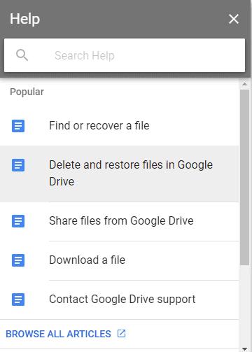 Google Docs Bin