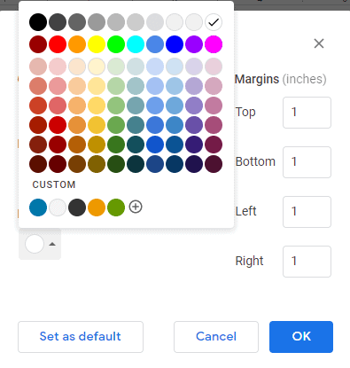 google docs background image in table