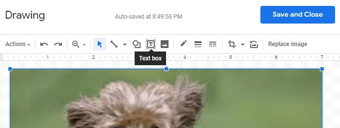 google docs insert background image