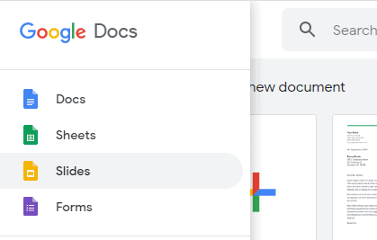 how to put a theme on google docs