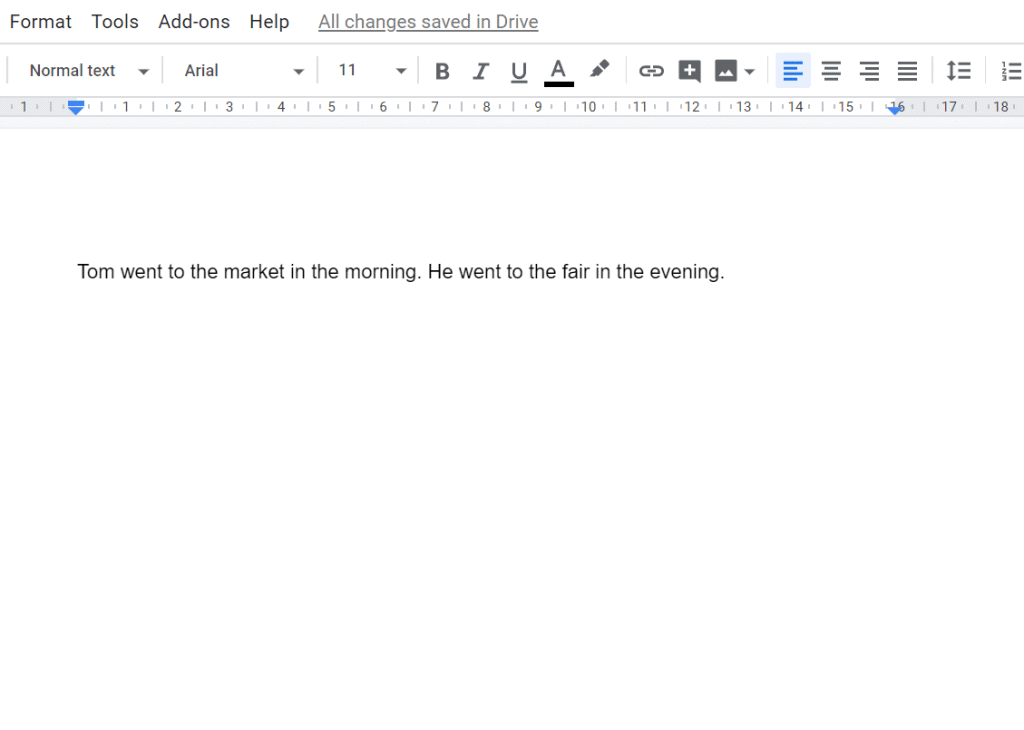 how to use Google docs strikethrough