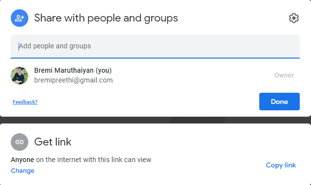 view Google docs anonymously