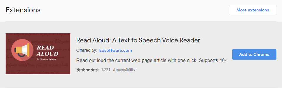 Make Google Docs read aloud