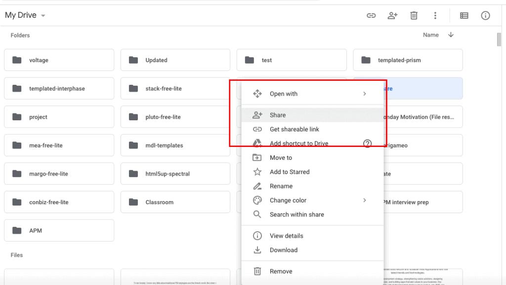 change ownership of a google drive folder