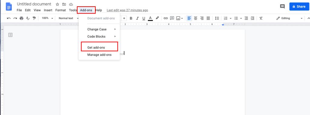 Google Docs Highlight Text