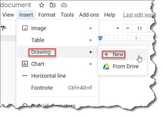 How To Insert A Vertical Line In Google Docs