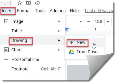 How to rotate text on google docs
