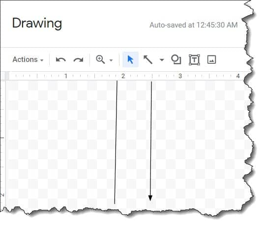 how to insert vertical line in google docs