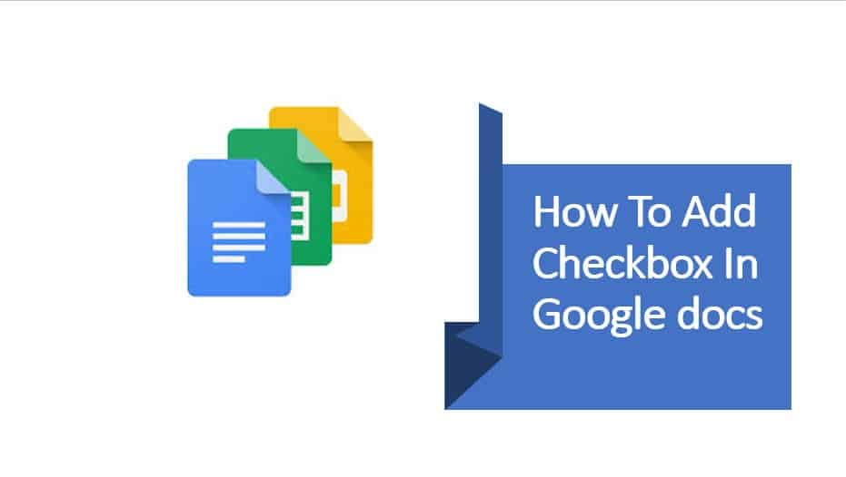 Add checkbox in Google docs