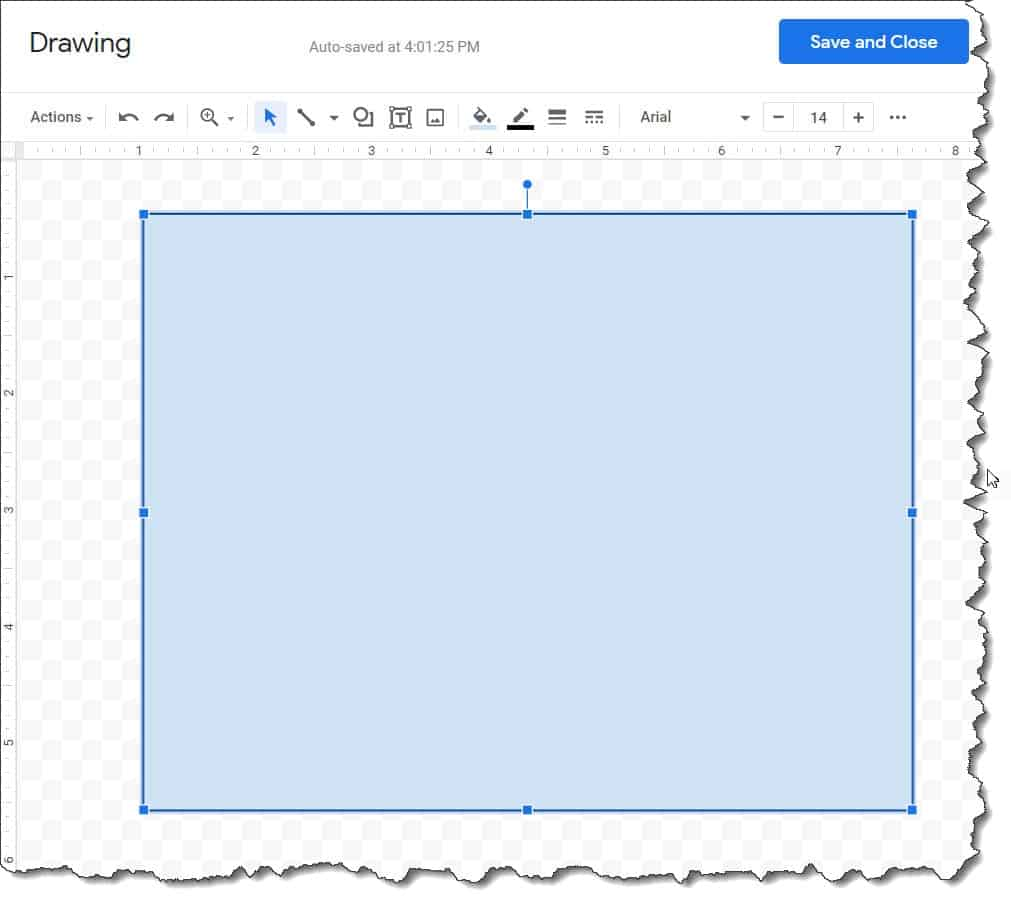 Can I Add a border in Google Docs