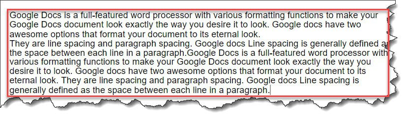 Character spacing available yet in Google Docs