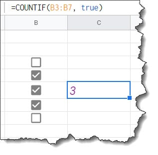 Google Sheets Count