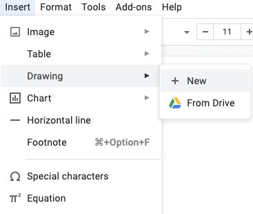Use Drawing Tool