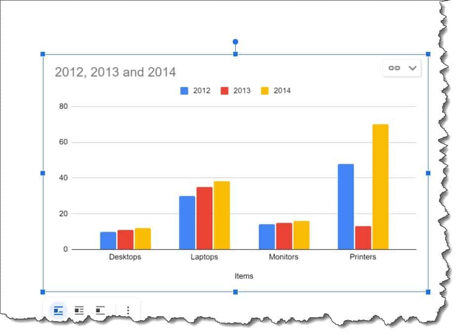 Create a Graph in Google Docs