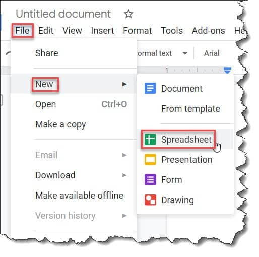 How To Create A Graph In A Google Doc
