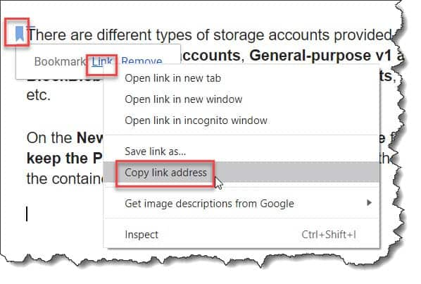 How To Link To A paragraph In Google Docs