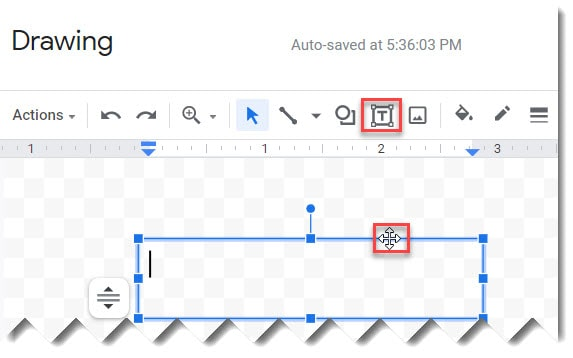 How To Move Text Box In Google Docs
