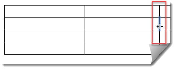 How To Resize Rows And Columns In A Table On Google Docs
