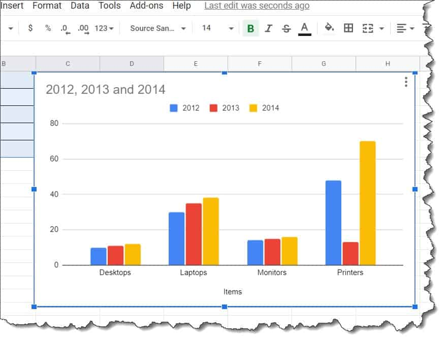 How To build A Graph In Google Docs