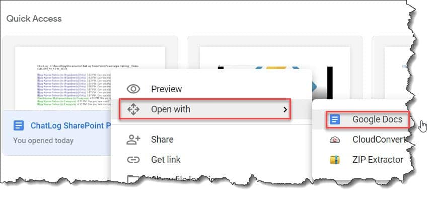 How to Import a Word Document into Google Docs