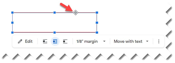 How to Move a Text Box Google Doc