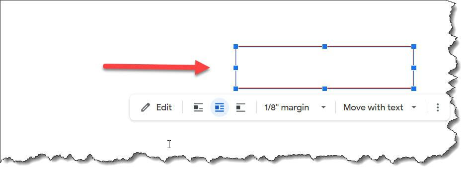 How to Move a Text Box Google Docs