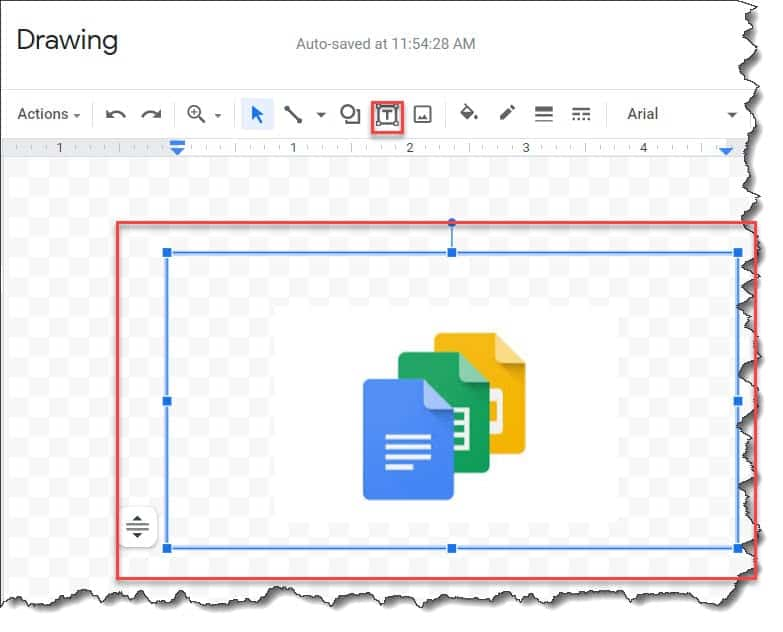 How to add A Text Box Over A Picture In Google Docs