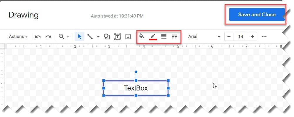 Insert Text Box In Google Docs Using The Drawing Tool