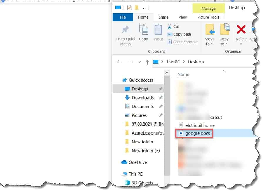 Insert a Picture Into a Google Doc