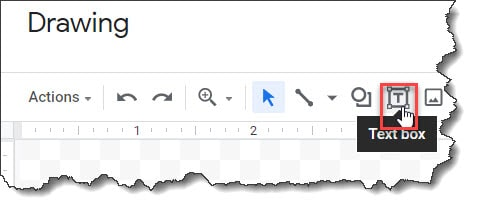 Insert a Text Box In Google Docs Using The Drawing Tool