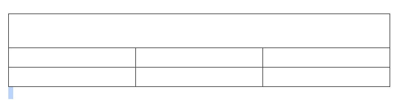 Merge Cells In A Table On Google Docs