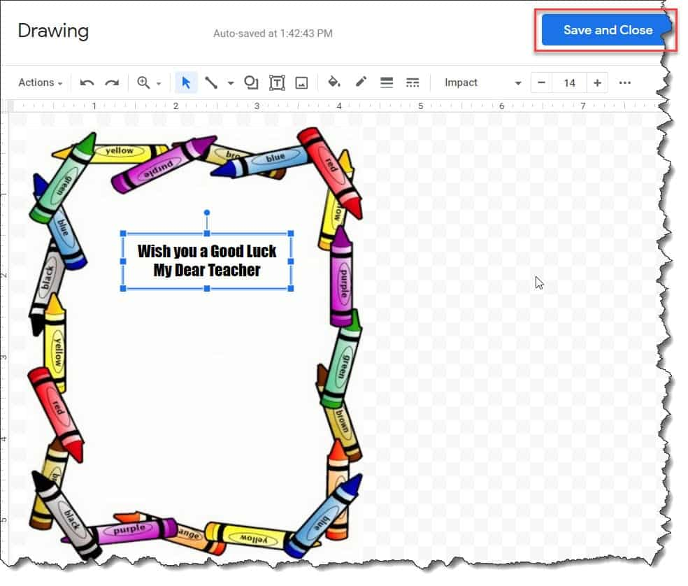Teacher Borders For Google Docs