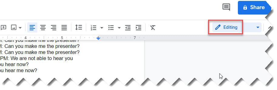 How To Edit Google Docs