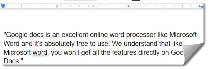 How To Use Block In Google Docs