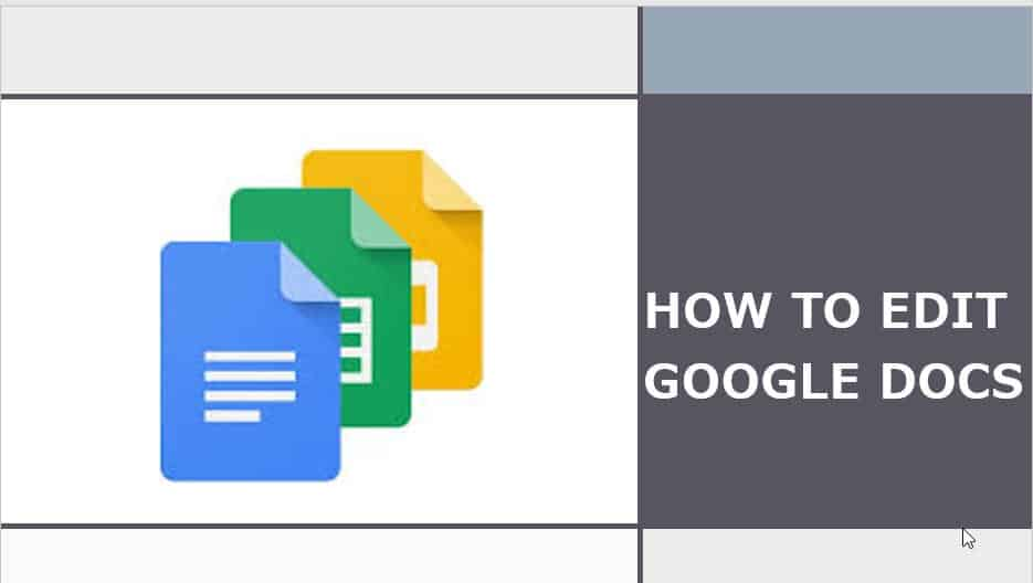 How To modify Google Docs