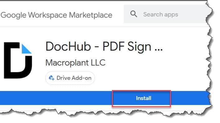 How do I do an electronic signature in Google Docs