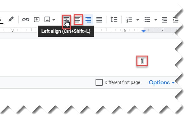 How to Move a Page Number In Google Docs