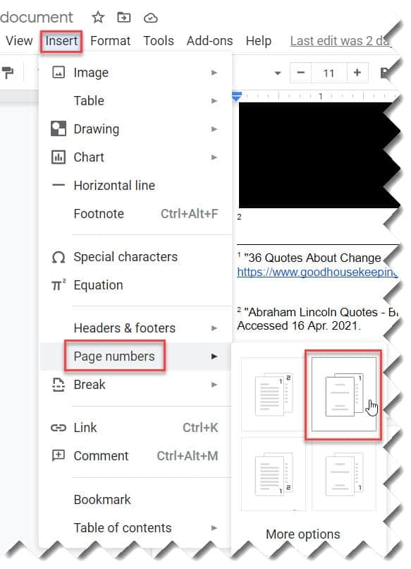 How to Start Page Numbering on Page 2