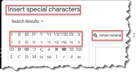 Insert Roman Numeral Page Numbers Google Docs