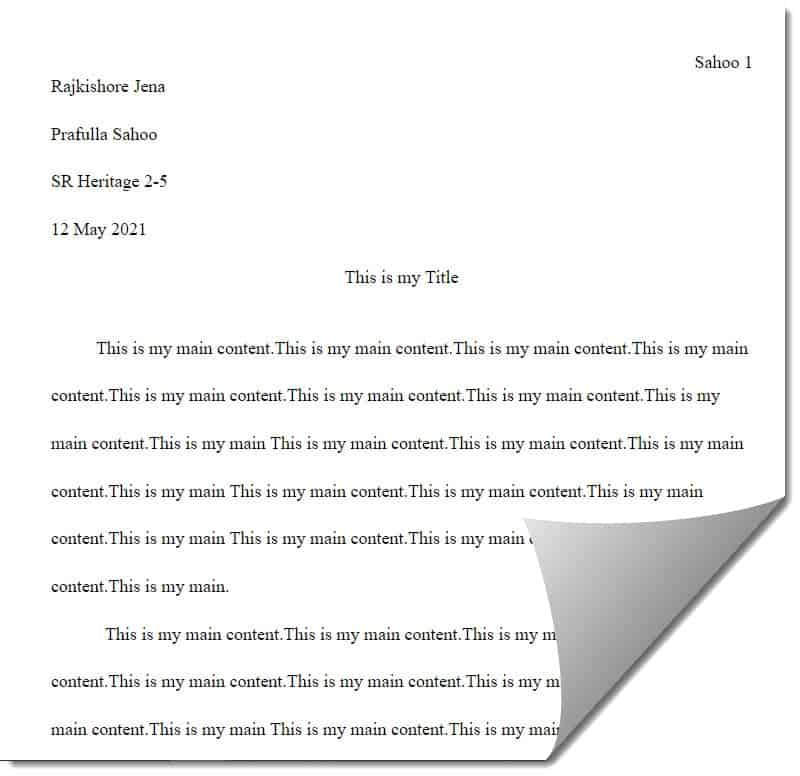 How To Do MLA Format On Google Docs On iPad or iPhone