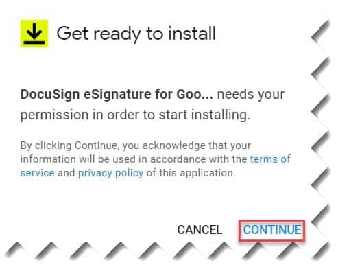 How To Install Docusign Google Docs