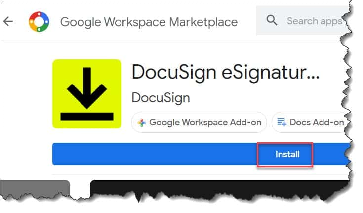 How To Install Docusign In Google Docs