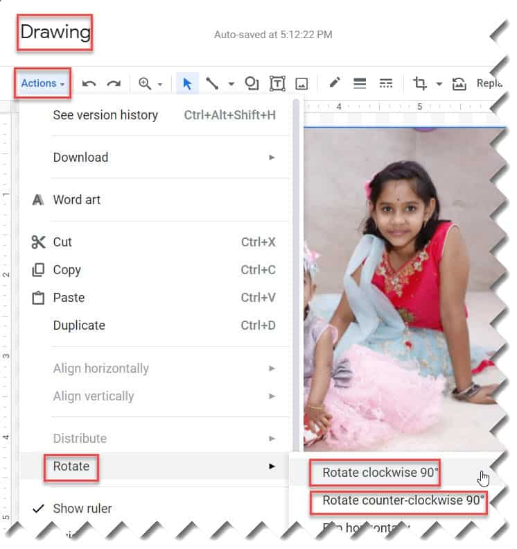 How to Flip an Image in Google Docs Instantly
