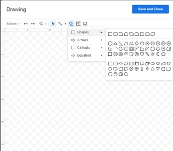 How to Make a Venn diagram on Google Docs using Google Drawings