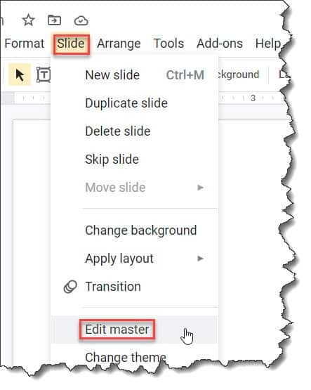 How to add watermark in every slides