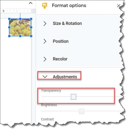 How to add watermarks in google slides